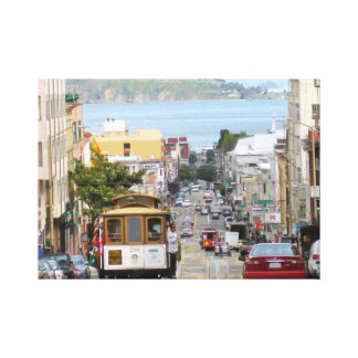 San Francisco Stretched Canvas Prints