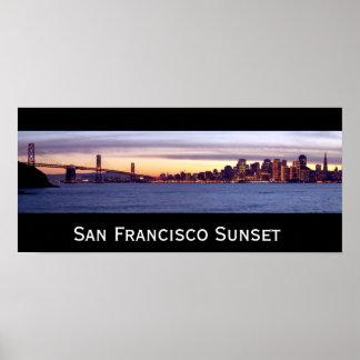 San Francisco Sunset Print