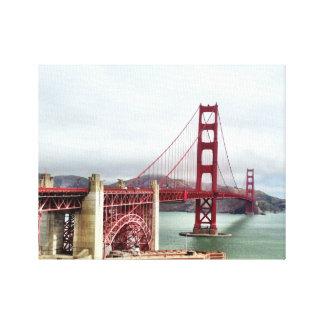 San Francisco Treat Canvas Print