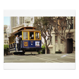 San Francisco Trolley Car Photographic Print