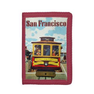 San Francisco USA Vintage Travel wallets
