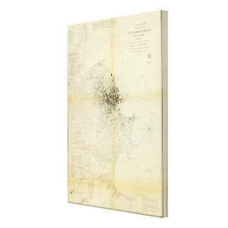 San Francisco & vicinity Stretched Canvas Prints
