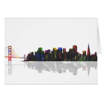 San Fransisco Skyline Card