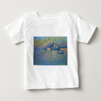 San Giorgio Maggiore, Twilight by Claude Monet Baby T-Shirt