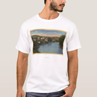 San Lorenzo River View of City T-Shirt