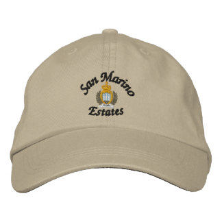 San Marino Estates Hat Embroidered Hats