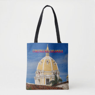 San Pedro Cathedral Cartagena Tote Bag