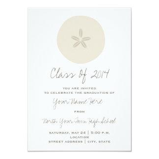 Sand Dollar Class of 2014 Graduation Invitation
