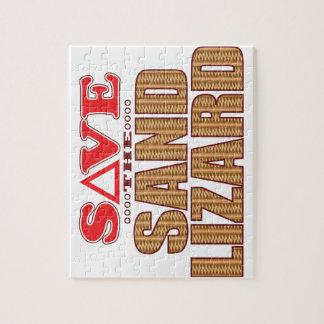 Sand Lizard Save Jigsaw Puzzle