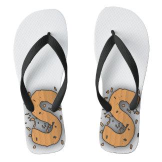 Sandboarding Nation Flip Flops Thongs