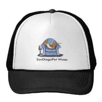 SanDiegoPet Wines-Hat Cap