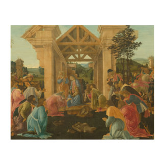Sandro Botticelli - The Adoration of the Magi Wood Wall Art