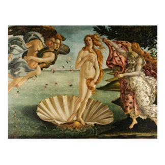 Sandro Botticelli - The Birth of Venus Postcard