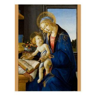 Sandro Botticelli - The Virgin and Child Postcard