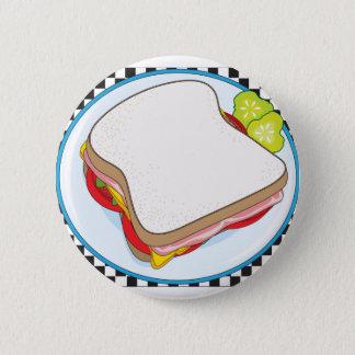 Sandwich 6 Cm Round Badge
