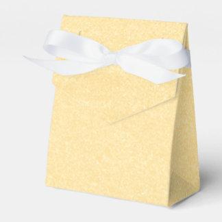 Sandy Gold Favour Box