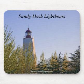Sandy Hook II Lighthouse Mousepad