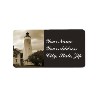 Sandy Hook Lighthouse Address Label