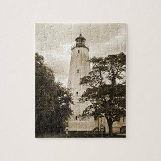 Sandy Hook Lighthouse Jigsaw Puzzle