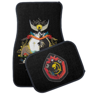 Sanford COA and Crest Car Mat