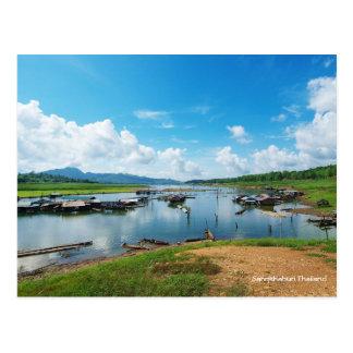 Sangkhlaburi  Thailand Postcard