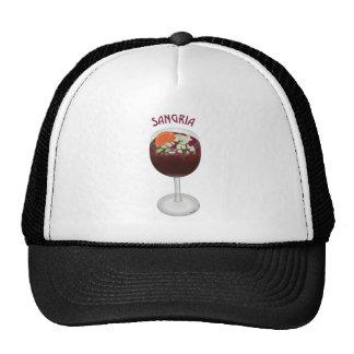 SANGRIA WINE DESIGN MESH HATS