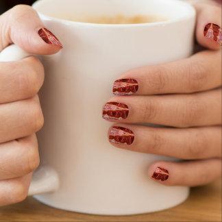 Sanguine Point Minx Nails by Artist C.L. Brown Minx Nail Art