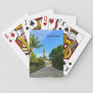 Sanibel Island Lighthouse Florida Gulf Coast Playing Cards