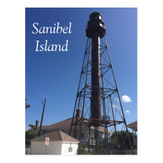Sanibel Island Lighthouse postcard