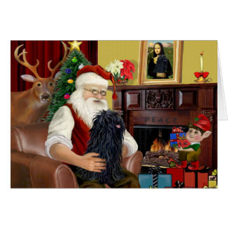Santa and his Puli Card