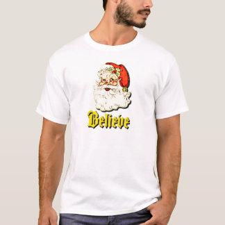 Santa Believe Christmas.png T-Shirt