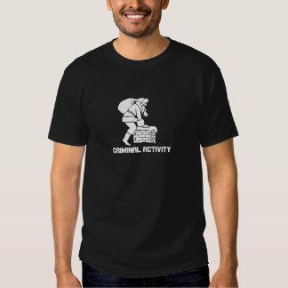 Santa chimney: Criminal Activity Tshirt