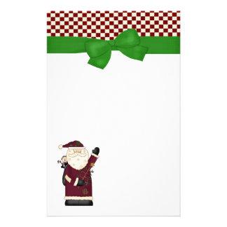 Santa Christmas Stationery