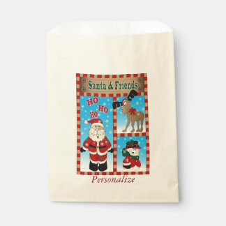 Santa Claus and Friends | Christmas Favour Bags