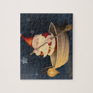 Santa Claus and walnut shell Jigsaw Puzzle