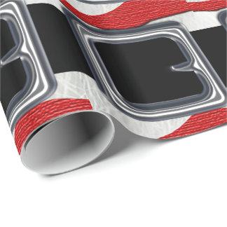 Santa Claus Belt Christmas Holiday Design Xmas Wrapping Paper