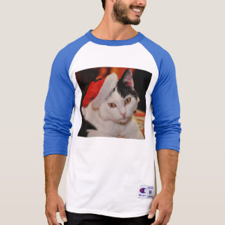 Santa claus cat - merry christmas - pet cat T-Shirt