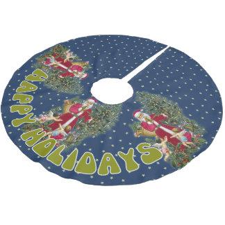 Santa Claus Christmas Tree Skirt
