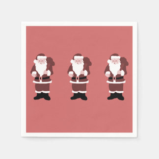 Santa Claus Disposable Napkins