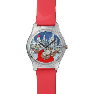 Santa Claus lost his hat Watch