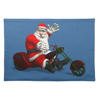 Santa Claus On Trike Placemat