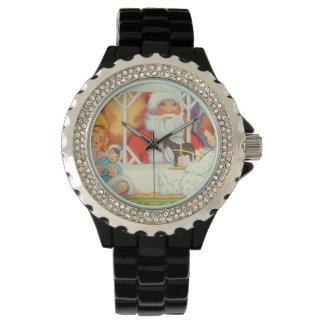 Santa Claus Toy Present Gift Watch