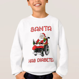 Santa Diabetes Sweatshirt