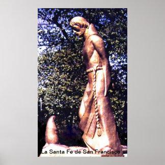 Santa Fe de San Francisco Poster