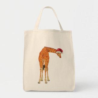 Santa Giraffe Bag