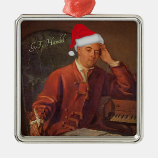 Santa Handel Messiah Classical Christmas Christmas Ornament