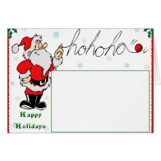 Santa-ho,ho,ho Card