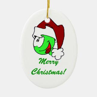 Santa Hurbi Ornament