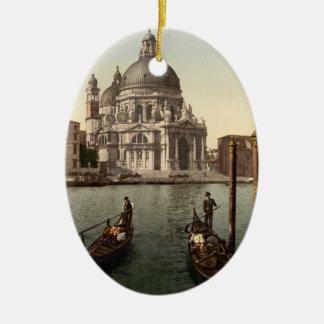 Santa Maria della Salute I, Venice, Italy Christmas Ornament