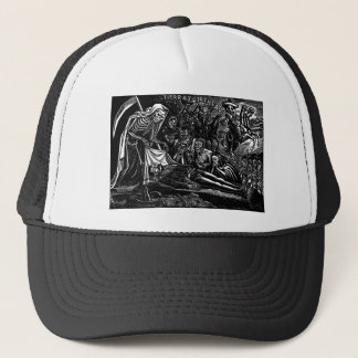 Santa Muerte and the Soldier c. 1951 Mexico Trucker Hat